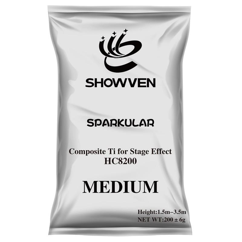 Sparkular HC8200 MEDIUM Medium Composite Ti for Stage Effect (12 bags) Medium Composite Ti for Stage Effect (12 bags)