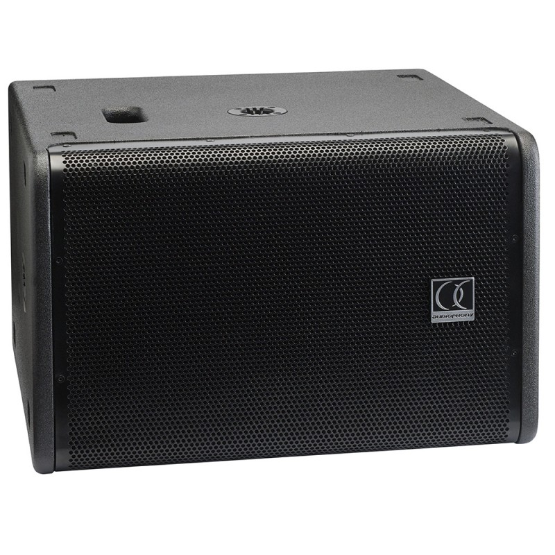 Audiophony iLINEsub12A 12-inch active subwoofer 700W + 700WWith built-in DSP 12-inch active subwoofer 700W + 700WWith built-in DSP