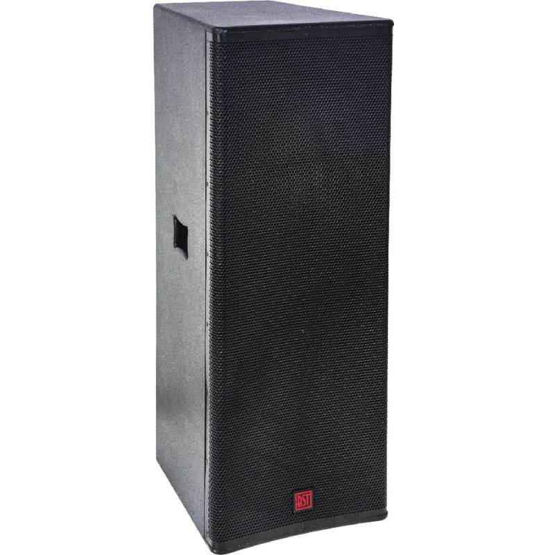 """BST FIRST-SA215DSP2 Full-range Active 2-way Speaker with Bluetooth 2 x 15""""/38 cm 1200 W Full-range Active 2-way Speaker with Bluetooth 2 x 15""""/38 cm 1200 W"""