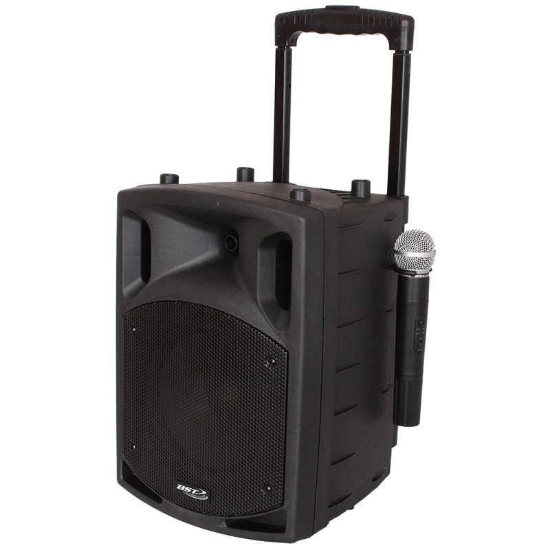 BST NOMAD12UHF Portable Amplified PA Speaker – 400 W Portable Amplified PA Speaker – 400 W