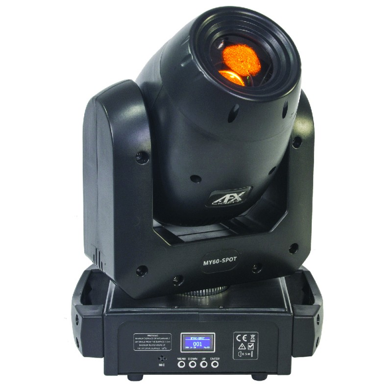 AFX Light MY60-SPOT LED 60W Spot Moving Head with Prism LED 60W Spot Moving Head with Prism
