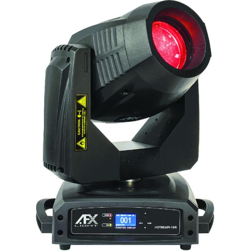 AFX Light HOTBEAM-16R Hybrid (Spot, Beam, Wash) Moving Head 16R 330W with 16R Philips Platinum Bulb Hybrid (Spot, Beam, Wash) Moving Head 16R 330W with 16R Philips Platinum Bulb