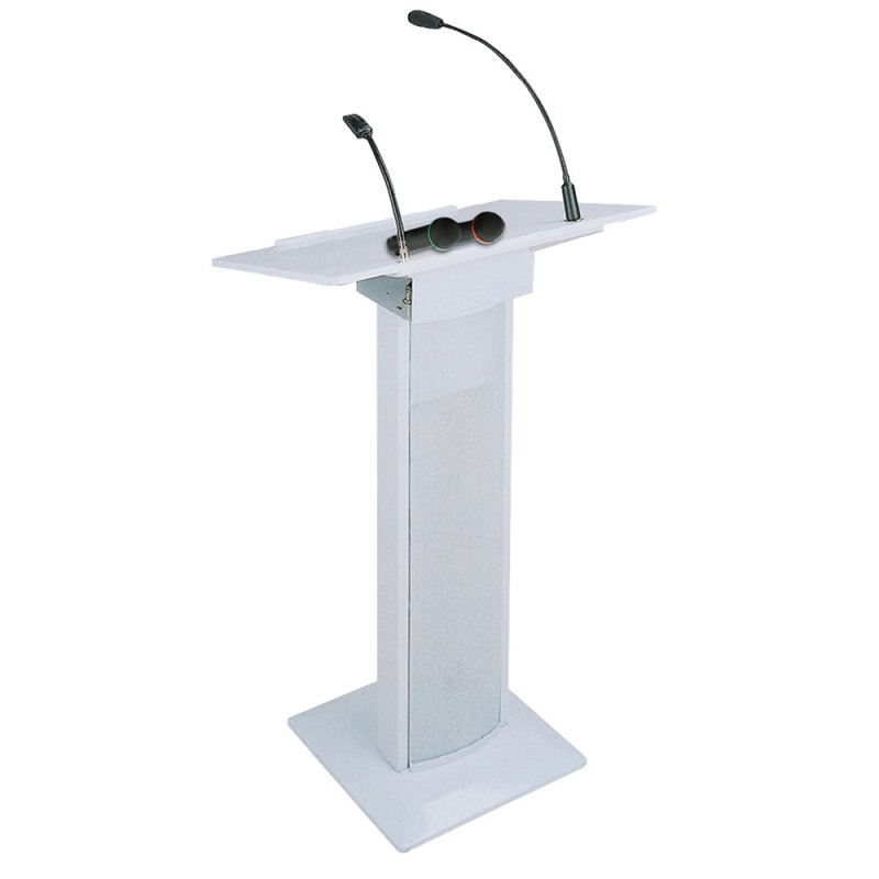 BST AMC73 Active Conference Lectern 90W - White Active Conference Lectern 90W - White