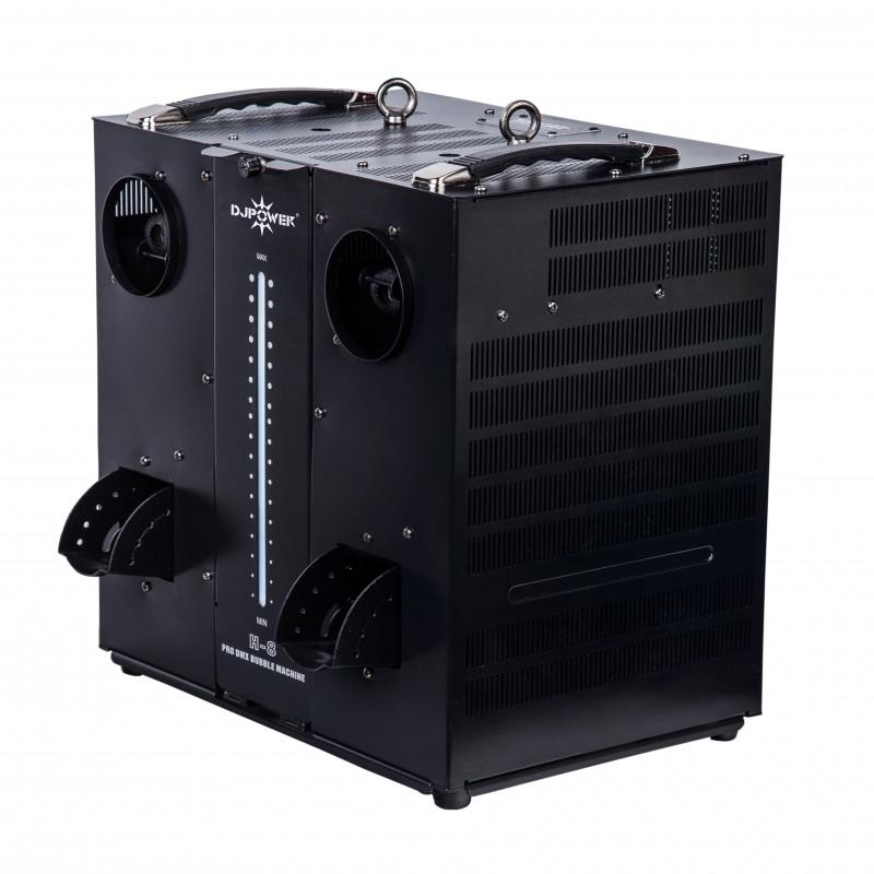 DJ Power H-8 Pro DMX Bubble Machine Pro DMX Bubble Machine