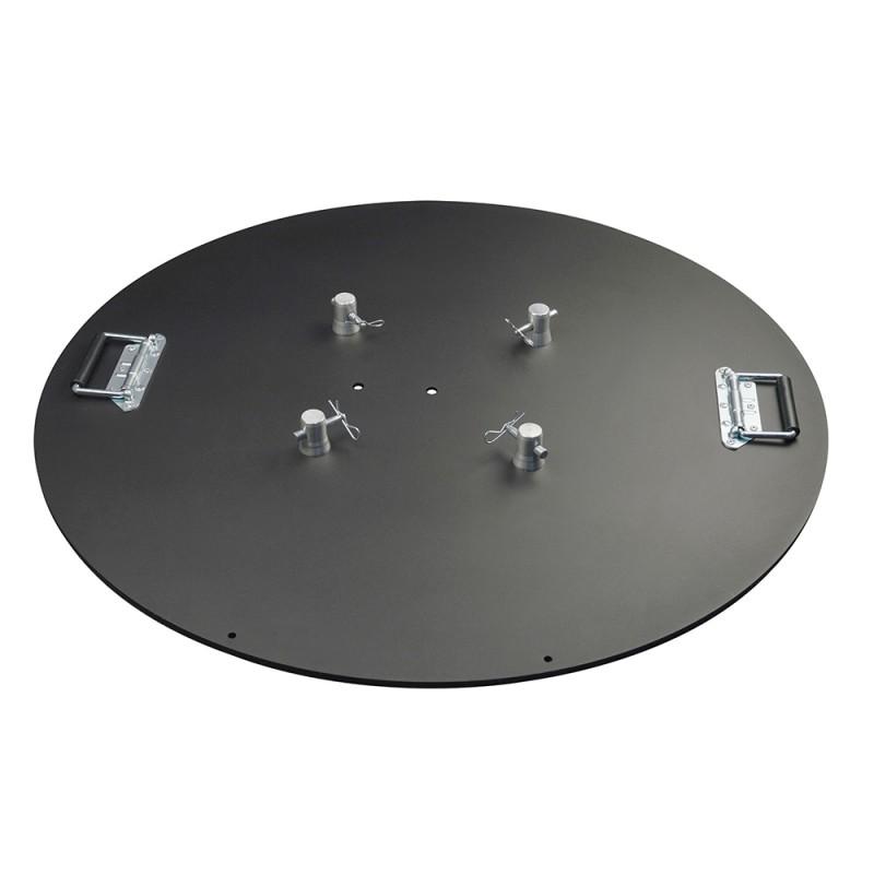 Contest EM29BLOU40D90 Heavy baseplate 40 kg for TRIO/QUATRO290 diam 90 Heavy baseplate 40 kg for TRIO/QUATRO290 diam 90