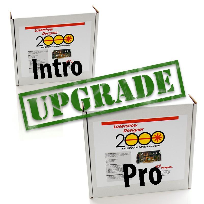 Pangolin LD2000UPGRADE2 Upgrade LD2000 Intro to PRO Upgrade LD2000 Intro to PRO