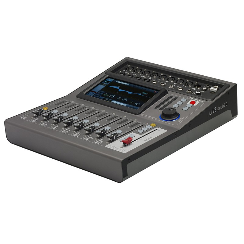 Audiophony LIVEtouch20 20 CH Motorized Faders Digital Mixer 20 CH Motorized Faders Digital Mixer