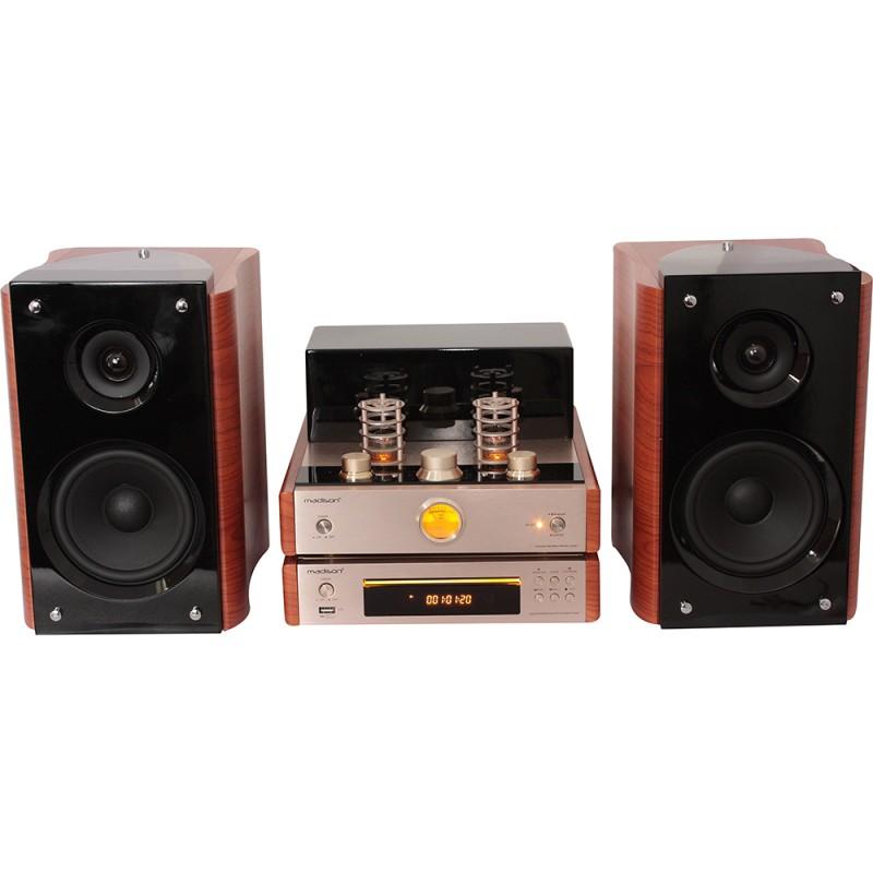 Madison MAD-TA20BT Vintage Audio System 2 x 40 W rms Vintage Audio System 2 x 40 W rms