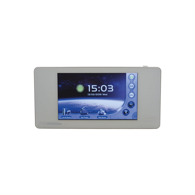Audiophony WALLAMPpad 2x20WWall amplifier SD/BT/AUX/DLNA/Airplay and ApplicationWith touchscreen 2x20WWall amplifier SD/BT/AUX/DLNA/Airplay and ApplicationWith touchscreen
