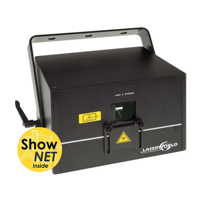 Laserworld DS-3000RGB-SN Diode Series Laser Projector 3000 mW with ShowNet Diode Series Laser Projector 3000 mW with ShowNet