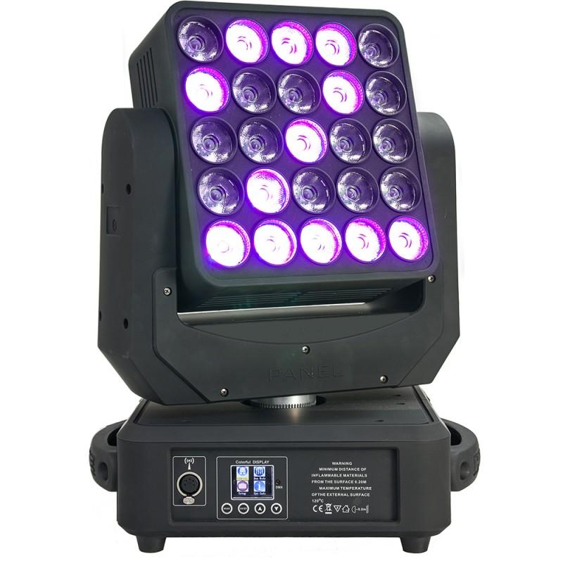 AFX Light MAGIC-WASH25 LED RGBW 25x12W Matrix Moving Head LED RGBW 25x12W Matrix Moving Head