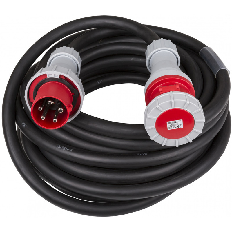 Hilec CEE-CABLE-63A-5G16-20M 5-pole CEE power extension cable 20m 5-pole CEE power extension cable 20m