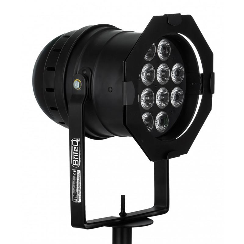 Briteq BT-STAGEPAR 6in1 LED PAR Projector RGBWA+UV (12x12W) - 15° LED PAR Projector RGBWA+UV (12x12W) - 15°