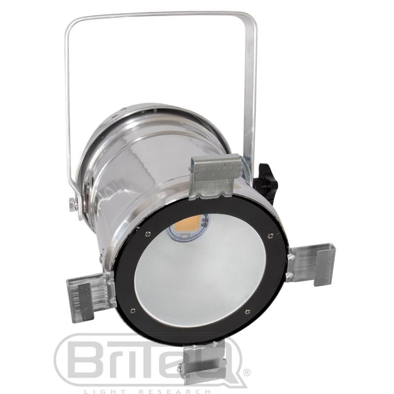 Briteq COB PAR56-S LED PAR56 white 100W COB, Silver LED PAR56 white 100W COB, Silver