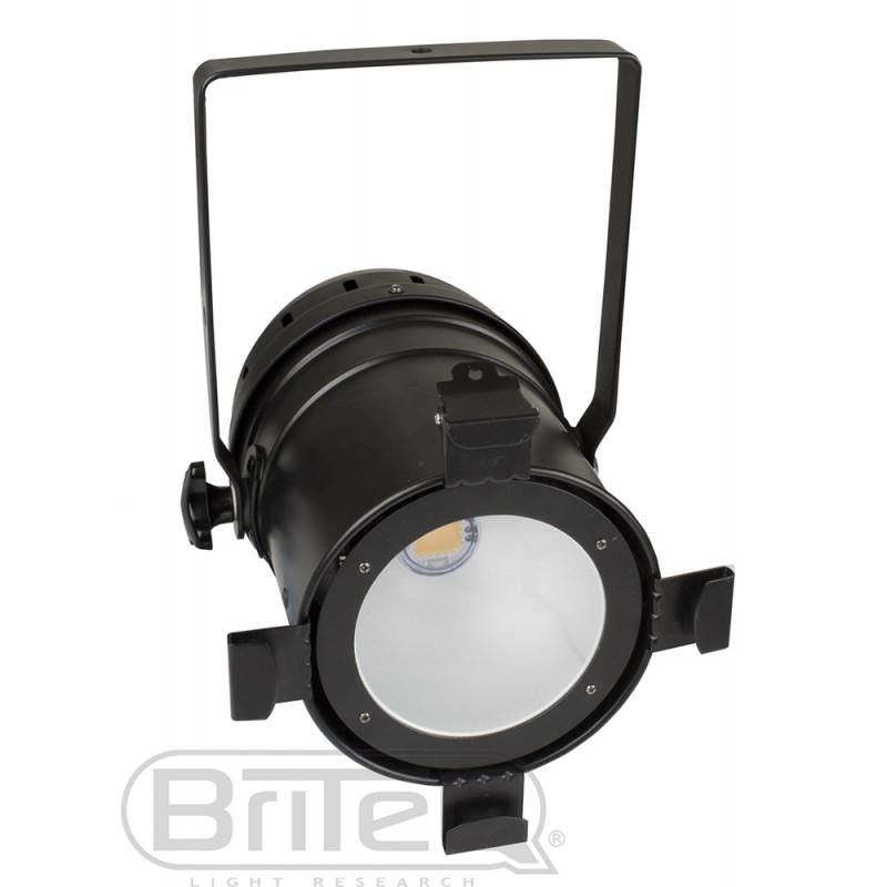 Briteq COB PAR56-B LED PAR56 white 100W COB, Black LED PAR56 white 100W COB, Black