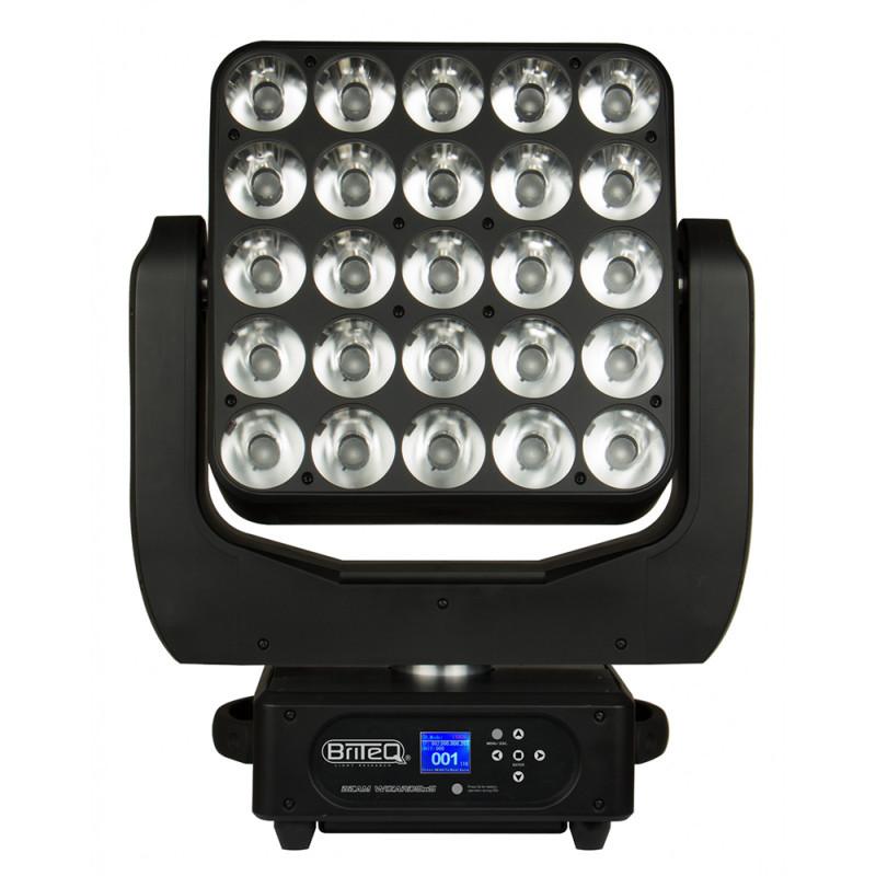 Briteq BEAM WIZARD5x5 5x5 LED Moving panel RGBW (25x15W) - 4,5° + ArtNet 5x5 LED Moving panel RGBW (25x15W) - 4,5° + ArtNet