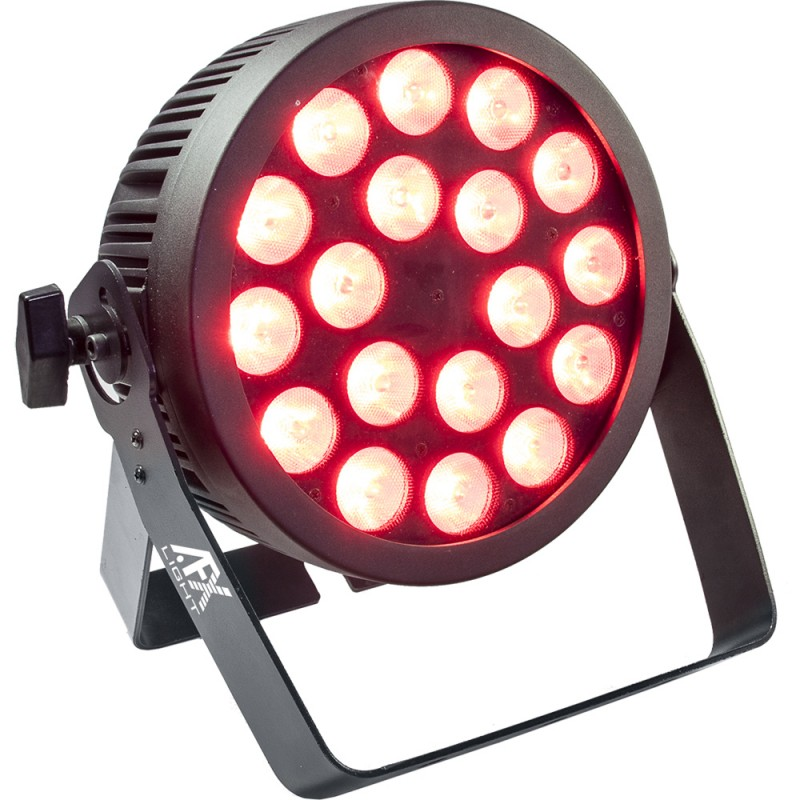 AFX Light PROPAR18-HEX LED PAR 18x 12W RGBAW+UV 6in1 LED PAR 18x 12W RGBAW+UV 6in1