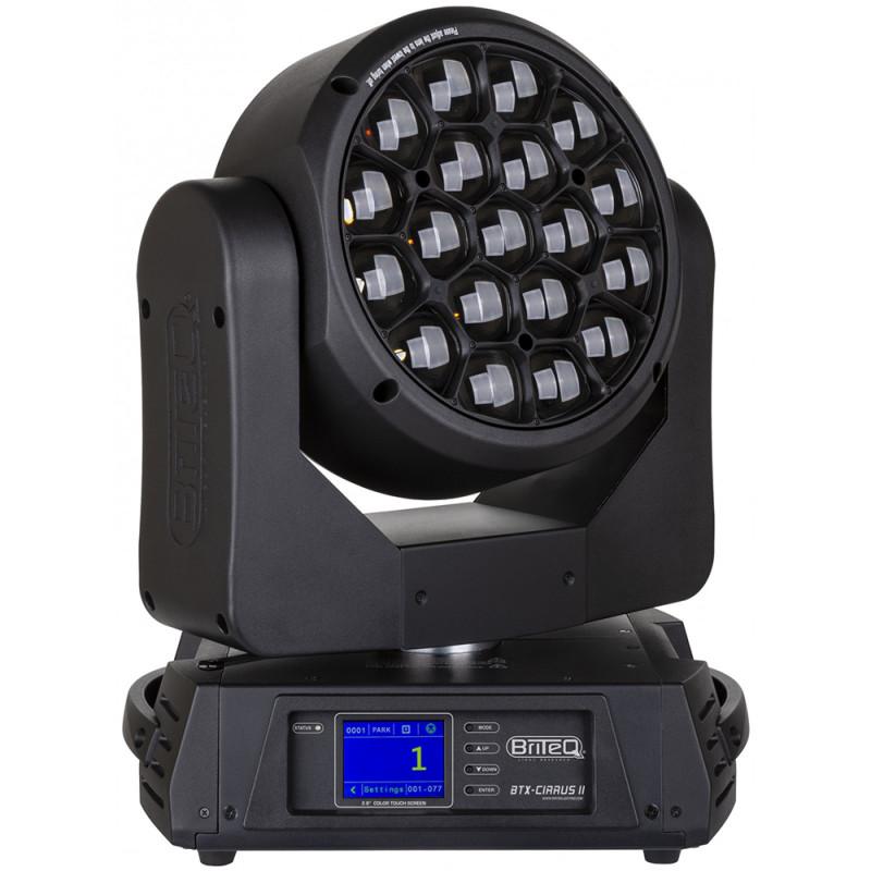 Briteq BTX-CIRRUS II LED Moving Wash RGBW (19x30W) LED Moving Wash RGBW (19x30W)