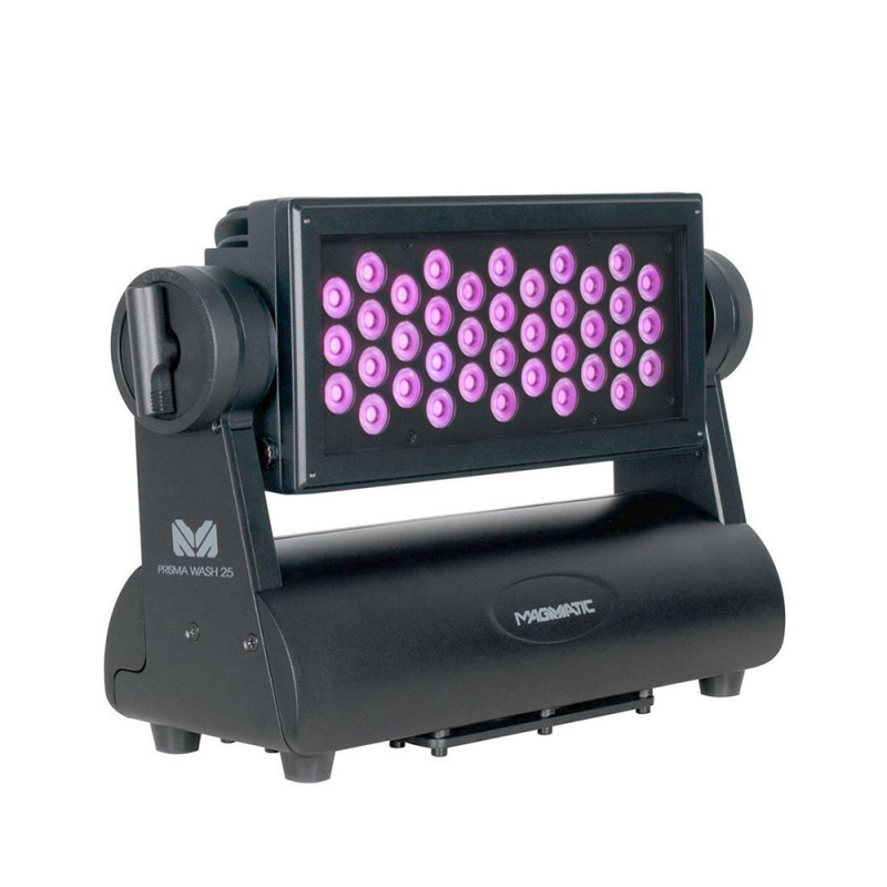 Magmatic Prisma Wash 25 Wash Luminaire 38x2W UV Diode LEDs 25° Wide Beam Angle Wash Luminaire 38x2W UV Diode LEDs 25° Wide Beam Angle