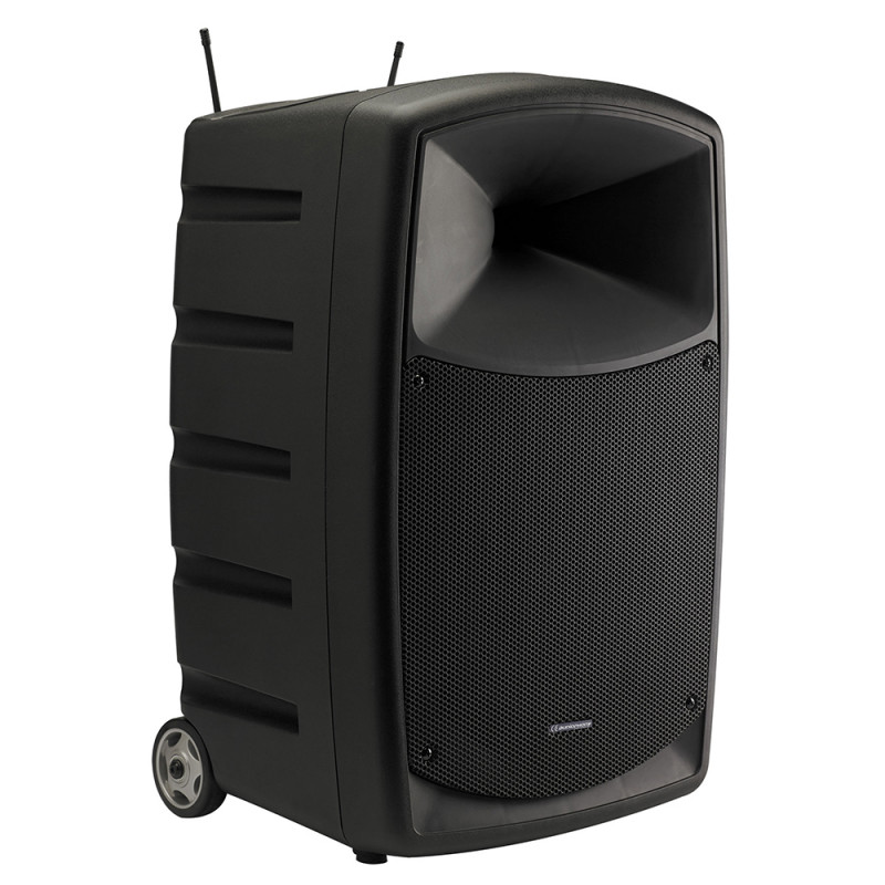 Audiophony CR12A-COMBO-F5 120W portable sound systemWith battery, Bluetooth and 500MHz HF system 120W portable sound systemWith battery, Bluetooth and 500MHz HF system