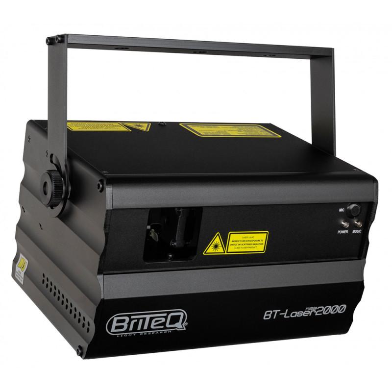 Briteq BT-LASER2000 RGB Laser effect RGB 2000mW ( 500mW Red + 500mW green + 1000mW blue ) Laser effect RGB 2000mW ( 500mW Red + 500mW green + 1000mW blue )