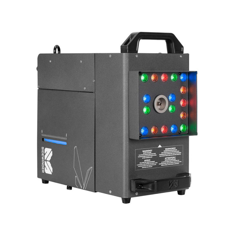 Elation Professional Sidewinder High Velocity CO2 Simulator Fog Machine High Velocity CO2 Simulator Fog Machine