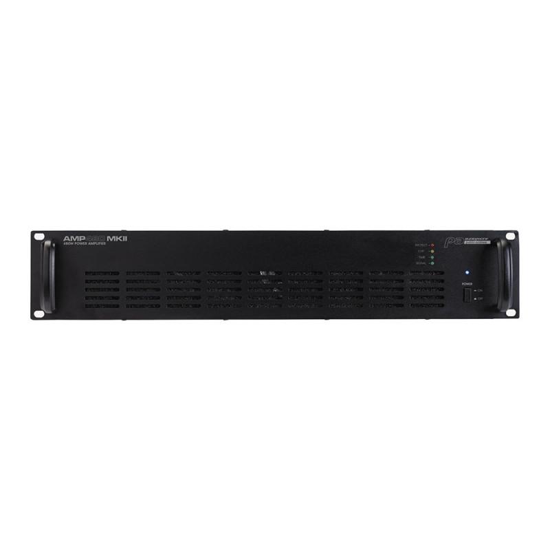 Audiophony AMP480MKII Public Address amplier - 1 x 480W Public Address amplier - 1 x 480W