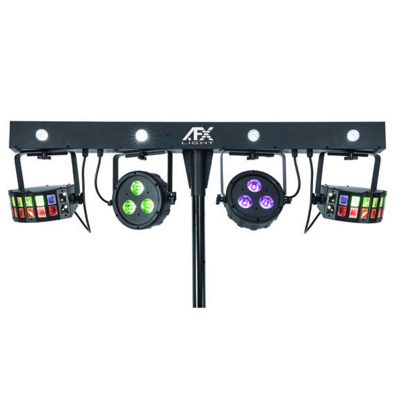 AFX Light EVENTBAR-BAT Stand-alone DMX Controlled Light Bar 4-in-1 Stand-alone DMX Controlled Light Bar 4-in-1