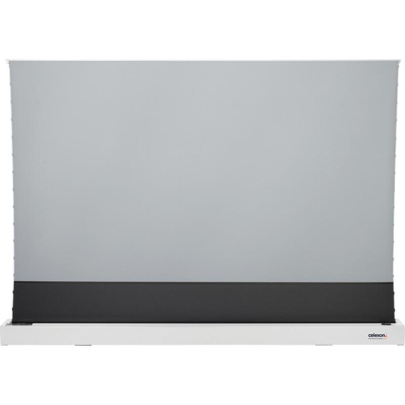 Celexon CLR HomeCinema UST 1000012350 CLR HomeCinema UST High Contrast Electric Floor Screen, 221 x 124cm, 100 inch, 16:9 - White CLR HomeCinema UST High Contrast Electric Floor Screen, 221 x 124cm, 100 inch, 16:9 - White