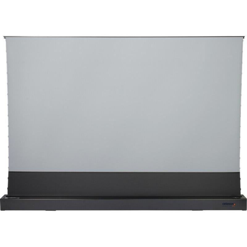 Celexon CLR HomeCinema UST 1000012355 CLR HomeCinema UST High Contrast Electric Floor Screen, 265 x 149cm, 120 inch, 16:9 - Black CLR HomeCinema UST High Contrast Electric Floor Screen, 265 x 149cm, 120 inch, 16:9 - Black