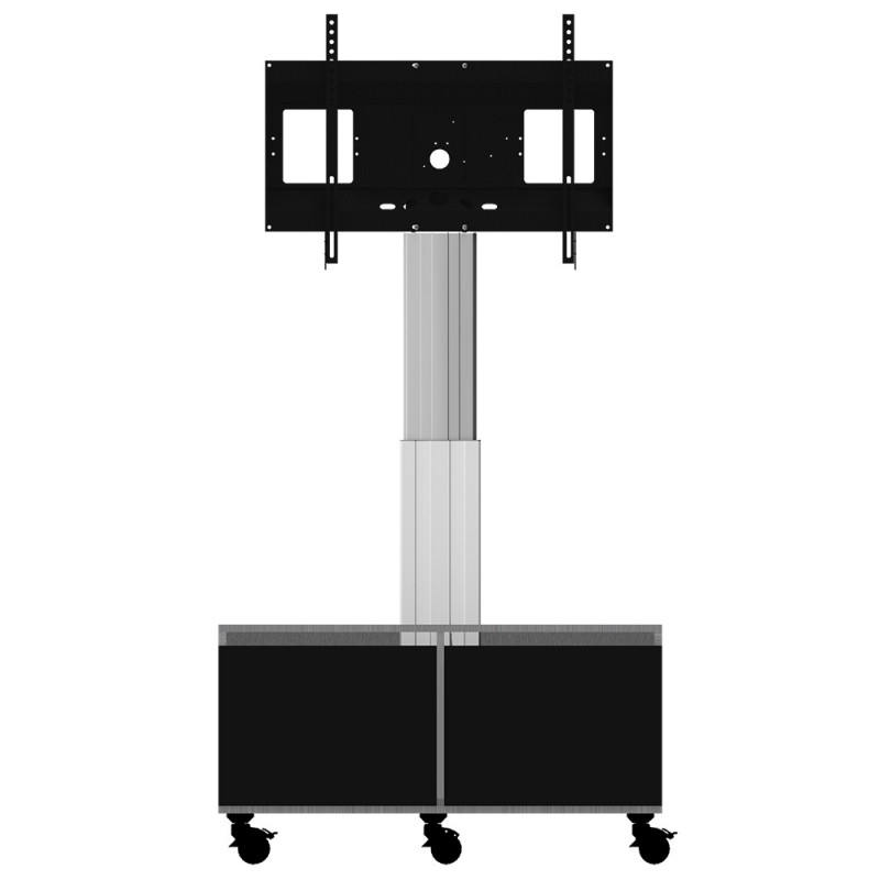 Celexon Adjust-4286MS-50 multi-socket Expert Display stand with wheels and electrically adjustable height with integrated cabinet and multi-socket box - 50cm Expert Display stand with wheels and electrically adjustable height with integrated cabinet and multi-socket box - 50cm