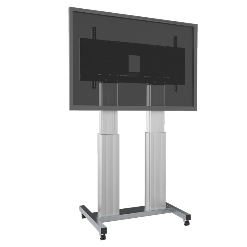 Celexon Adjust-70120MS-50 Expert Electrically height adjustable display trolley - 50cm - silver - load up to 250 kg Expert Electrically height adjustable display trolley - 50cm - silver - load up to 250 kg