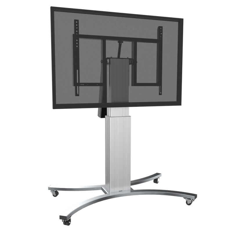 Celexon Adjust-V4286S-50 Expert Display stand with wheels and electrically adjustable height with tilt function - 50 cm - silver Expert Display stand with wheels and electrically adjustable height with tilt function - 50 cm - silver