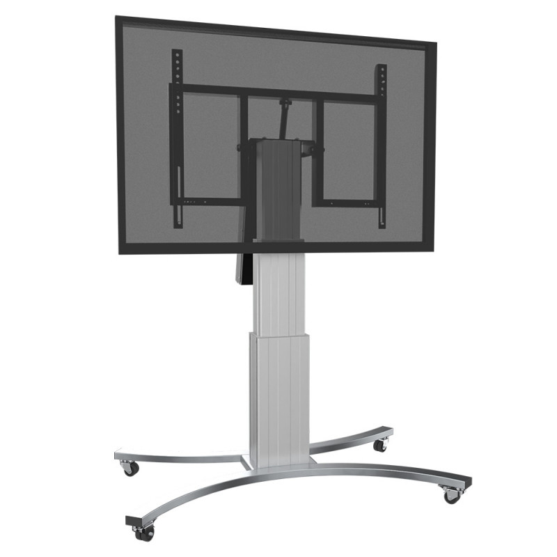 Celexon Adjust-V4275S-70 Expert Display stand with wheels and electrically adjustable height with tilt function - 70cm - silver Expert Display stand with wheels and electrically adjustable height with tilt function - 70cm - silver