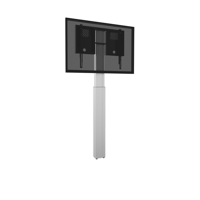 Celexon Adjust-4286WS-90 Display stand with wall mounting, electrically adjustable height - 90cm - silver Display stand with wall mounting, electrically adjustable height - 90cm - silver