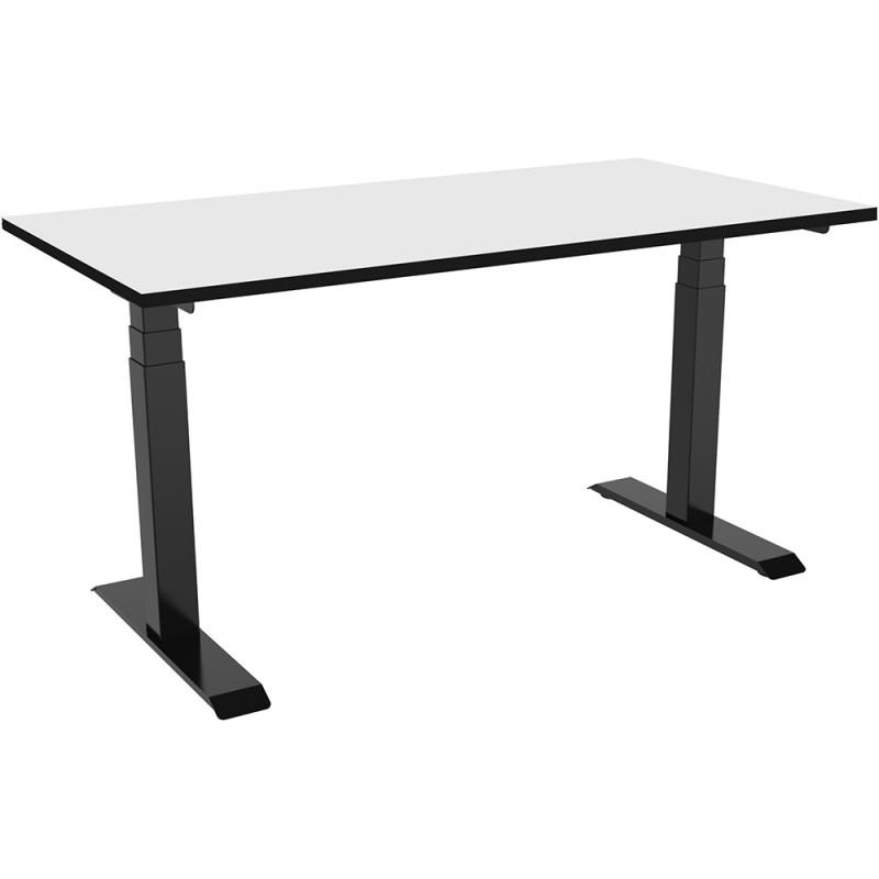 Celexon eAdjust-58123B-HPL125 Professional series, Electrically height adjustable desk, black, with HPL Table Top 125 x 75 cm Professional series, Electrically height adjustable desk, black, with HPL Table Top 125 x 75 cm