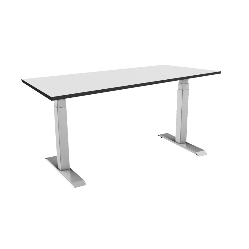 Celexon eAdjust-58123G-HPL125 Professional series Electrically height adjustable desk, grey, with HPL Table Top 125 x 75 cm Professional series Electrically height adjustable desk, grey, with HPL Table Top 125 x 75 cm