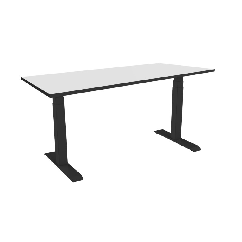 Celexon eAdjust-58123B-HPL150 Professional series Electrically height-adjustable desk, black, with HPL Table Top 150 x 75 cm Professional series Electrically height-adjustable desk, black, with HPL Table Top 150 x 75 cm