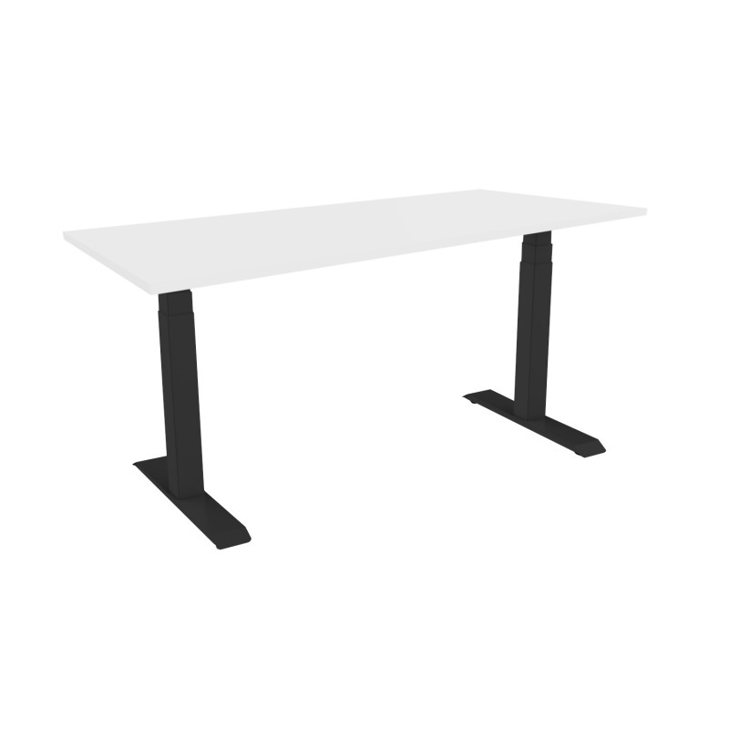 Celexon eAdjust-58123B-Table125 Professional series Electrically height-adjustable desk, black, with Table Top 125 x 75 cm Professional series Electrically height-adjustable desk, black, with Table Top 125 x 75 cm