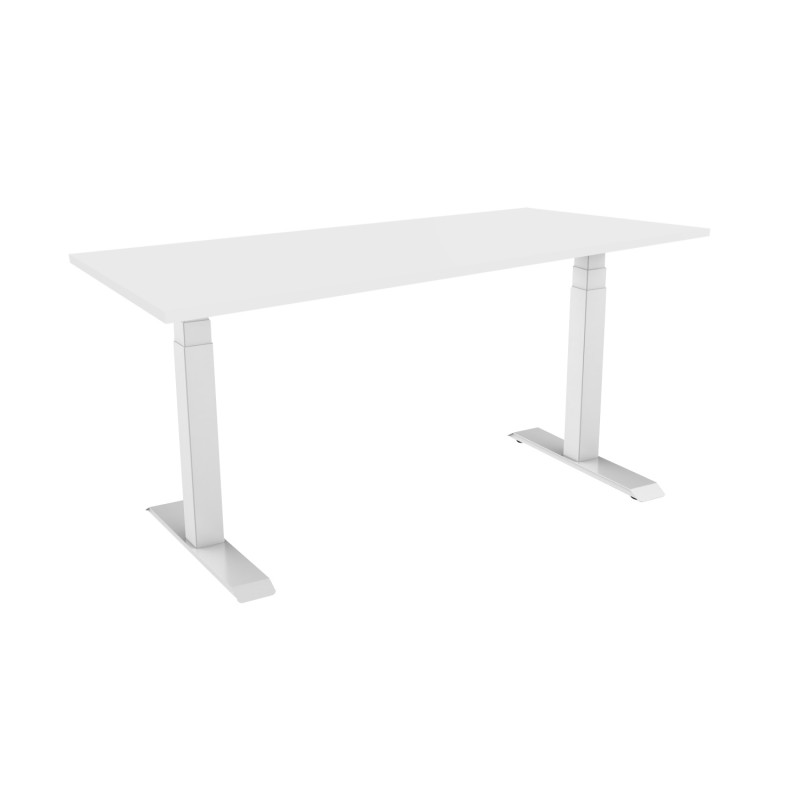 Celexon eAdjust-58123W-Table150 Professional series Electrically height-adjustable desk, white, with Table Top 150x75 cm Professional series Electrically height-adjustable desk, white, with Table Top 150x75 cm