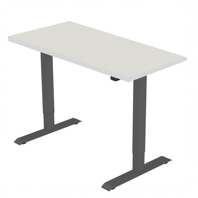 Celexon eAdjust-71121B-Table150 Economy series Electrically height-adjustable desk, black, with Table Top 150 x 75 cm Economy series Electrically height-adjustable desk, black, with Table Top 150 x 75 cm