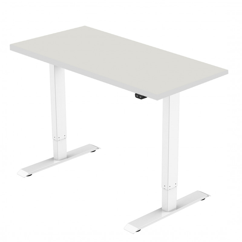 Celexon eAdjust-71121W-Table150 Economy series Electrically height-adjustable desk, white, with Table Top 150x75 cm Economy series Electrically height-adjustable desk, white, with Table Top 150x75 cm