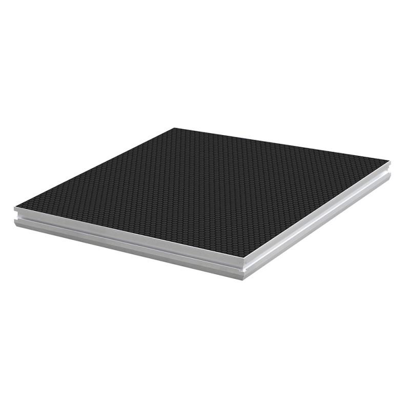 Contest PLTS-1x1 1m x 1m antislip 750Kg/m² platform - black Delivered without feet 1m x 1m antislip 750Kg/m² platform - black Delivered without feet