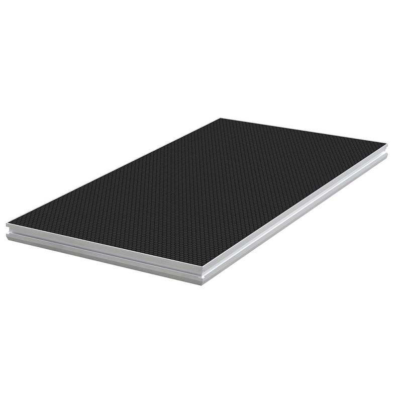 Contest PLTS-2x1 2m x 1m antislip 750Kg/m² platform - black Delivered without feet 2m x 1m antislip 750Kg/m² platform - black Delivered without feet