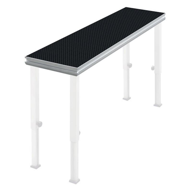 Contest PLTS-2x0,5 2x0,5m antislip platform 750 kg/m2 - black 2x0,5m antislip platform 750 kg/m2 - black