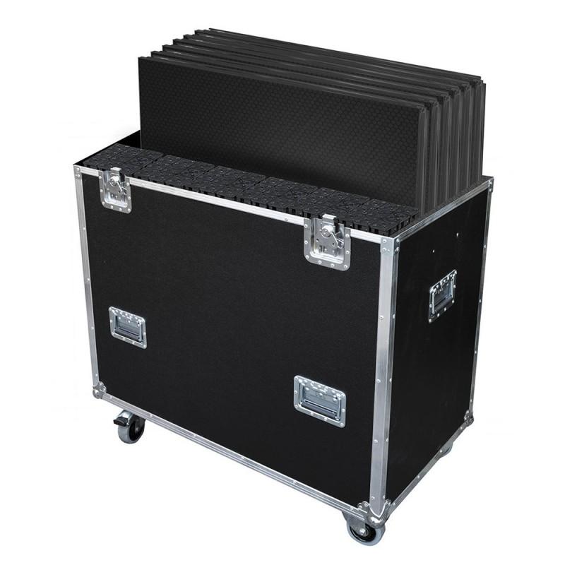 Contest FLY6PLTL1 Flight-case designed for 6 PLTL-1x1 with feet Flight-case designed for 6 PLTL-1x1 with feet