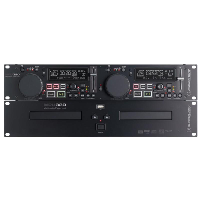 Audiophony MPu320 Dual CD/USB MP3 player Dual CD/USB MP3 player