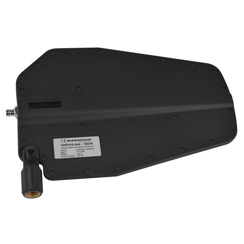 Audiophony UHF410-Ant Long range directional antenna + BNC connector Long range directional antenna + BNC connector