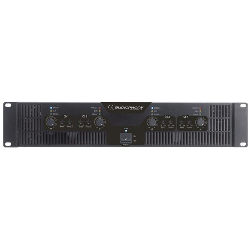 Audiophony WA-4X3 4-channel amplifier 4-channel amplifier