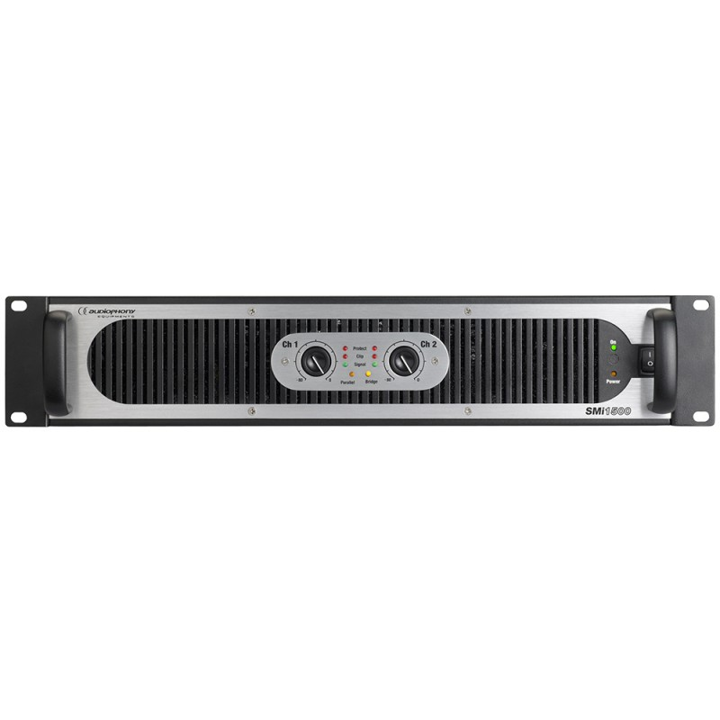 Audiophony SMi1500 SMPS Audio amplifier 2 x750W @ 4Ω SMPS Audio amplifier 2 x750W @ 4Ω